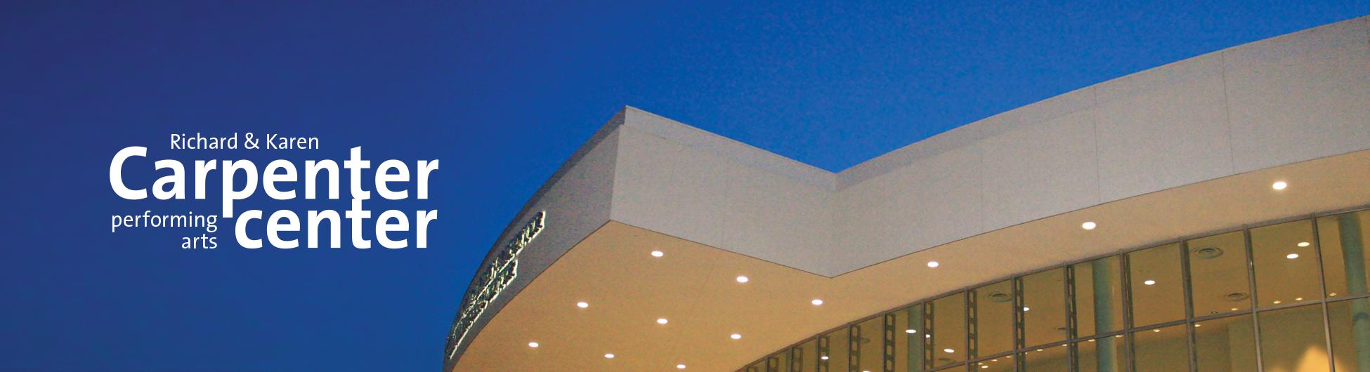 Exterior of the Carpenter Center facade